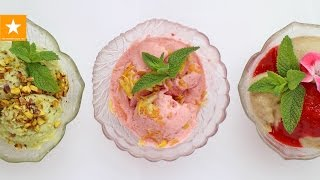 ДОМАШНЕЕ МОРОЖЕНОЕ ★ ТРИ РЕЦЕПТА от Мармеладной Лисицы ★ Полезное мороженое ★ Homemade Ice Cream