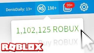 ONE MILLION ROBUX!!