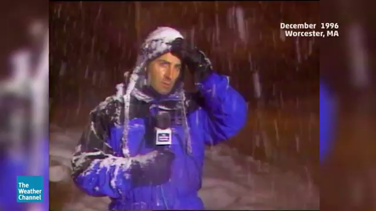 Jim Cantore Remains the King of Thundersnow