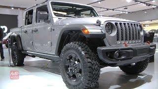 2020 Jeep Gladiator Rubicon 4x4 - Exterior And Interior Walkaround - 2019 Montreal Auto Show