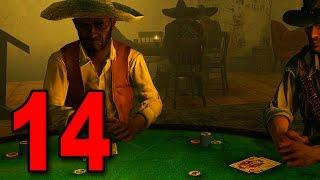 Red Dead Redemption - Part 14 - Winning BIG in Blackjack!