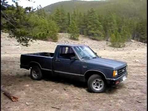 1986 chevrolet s 10 2 8 v6 open exhaust youtube. Black Bedroom Furniture Sets. Home Design Ideas