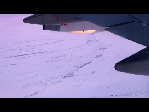 South African Airways (codeshare Qantas), Sydney to Johannesburg flying over South Pole