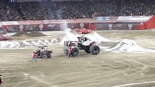 Monster Jam Day in Toronto Canada (January 19th, 2014)
