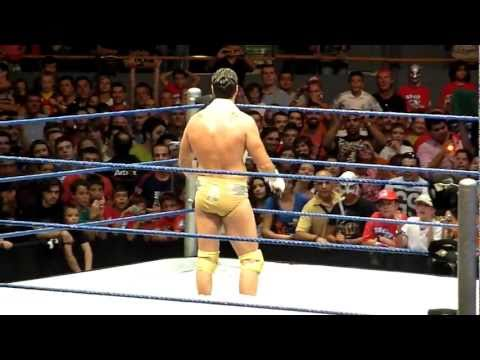 Alberto del Rio Live in Madrid - Promo Real Madrid Completa