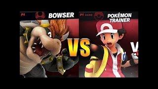 Super Smash Bros. Ultimate - Bowser vs Pokemon Trainer 2