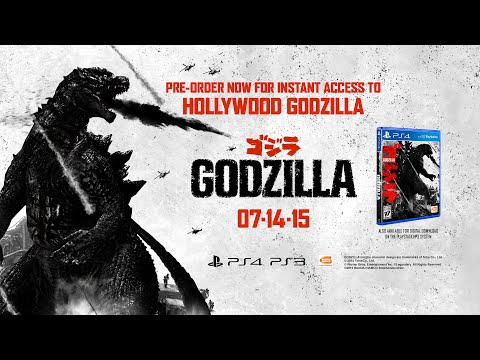 Godzilla The Game - Ps4 Gameplay Trailer video