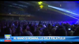 Romanian TV about the concert in Bucharest, Al Bano and Romina