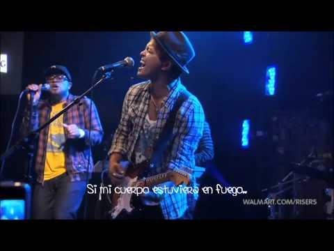 Bruno Mars - Grenade Live  Subtitulada en español