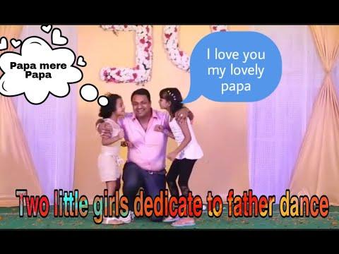 Two Girls Dance Performance song Papa Mere Papa