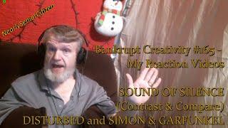 Download Lagu SOUND OF SILENCE - DISTURBED/SIMON : Bankrupt Creativity #165 - My Reaction Videos Gratis STAFABAND