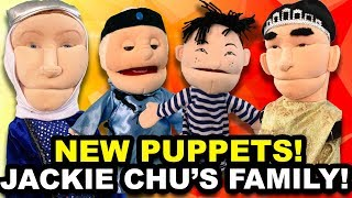 SML JACKIE CHU'S FAMILY!! (PUPPET UNBOXING)