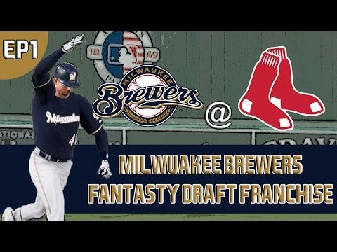 MLB 14 The Show: Milwaukee Brewers Fantasy Draft Franchise - The Draft/Opening Day [G5 EP1]