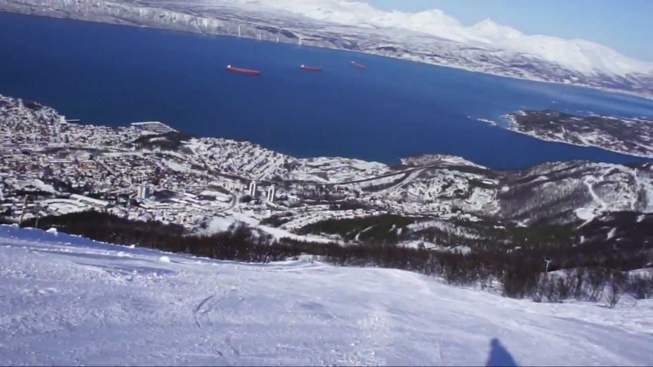 Fjord Skiing in Narvik