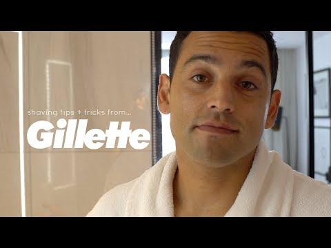 Gillette Shaving Tips + Tricks