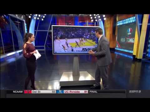 Sage Steele Ass. Cassidy Hubbarth in Stockings. (ESPN) thumbnail