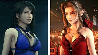 TIFA vs. AERITH FINAL FANTASY VII REMAKE | THE LOVE TRIANGLE OF FF7R ファイナルファンタジーVII リメイク
