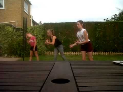 chloe,kerry @ elissa dancing to pound the alarm nicki minaj x x x