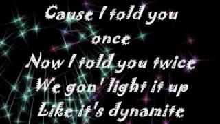 download lagu Dynamite - Taio Cruz -  Onscreen gratis