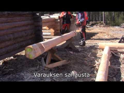 Hirsirakentaminen työkalut