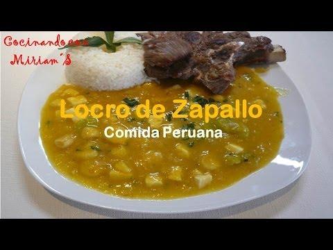 LOCRO DE ZAPALLO - RECETAS - COMIDA PERUANA