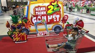 Kid #1   Bé Cún Spiderman lái siêu xe trong siêu thị BigC