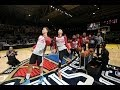 Steph Curry's All-Star Practice Half-Court