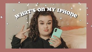What's On My iPhone X 2019!