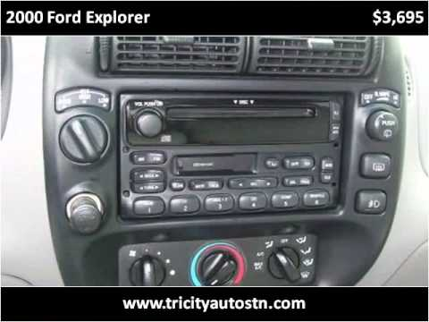2000 Ford Explorer Used Cars Rockwood TN
