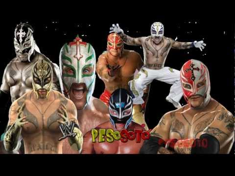 WWE SmackDown vs Raw - Rey Mysterio All Entrances (2006 - 2012...