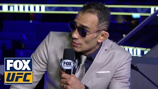 Tony Ferguson was in good spirits after UFC 229 win | INTERVIEW | UFC 229