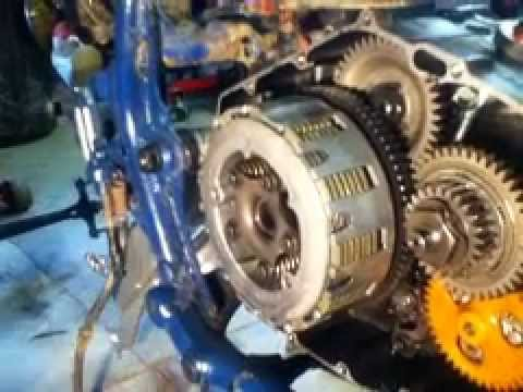 Yamaha Raptor  Clutch Installation