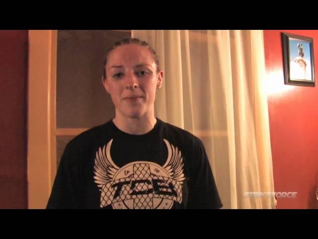 Sarah Kaufman Post Fight Interview
