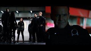 Coulson espere - Coulson, Bobbi, Hunter, Quake, May, Mack, Lincoln y Joey - Agents of SHIELD T.3