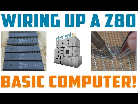 Hand-Wired Z80 Basic Computer