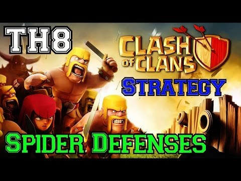 Clash of Clans: Let's Review Some Nearly Fully Upgraded Townhall 8 Defenses
