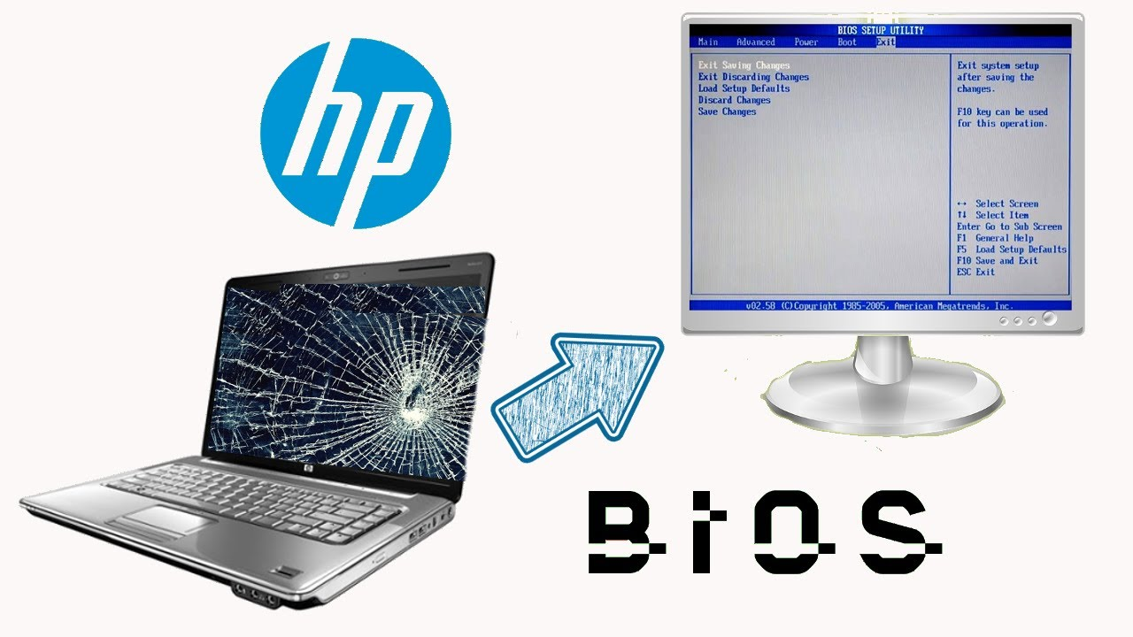 Broken hp Laptop Screen hp Laptop Broken Screen