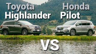 Toyota Highlander VS Honda Pilot - Frente a Frente