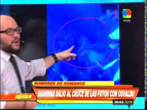 ¿Qué dijo Gianinna Maradona de la foto con Daniel Osvaldo?