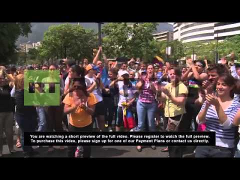 Venezuela: Opposition rally reaches boiling point over vote counts