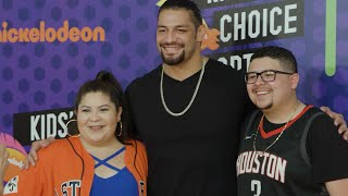 Rousey and Reigns join the 2018 Nick Kids' Choice Sports Awards: WWE Exclusive, July 20, 2018