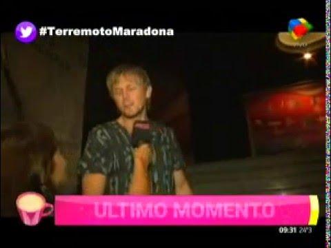 Jorge Taiana y la interna en los Maradona
