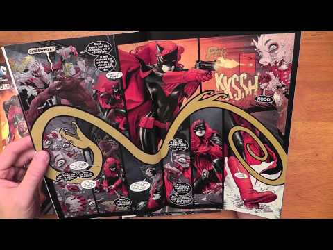 Whispered Comic book pull list & pickups - 8-29-2012 - for ASMR, Relaxation & Sleep