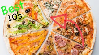 Top 10 PIZZA TOPPINGS That You Can EAT