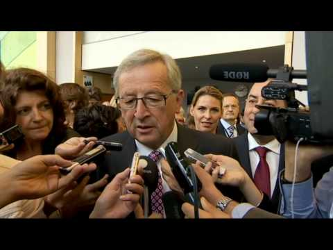 Jean-Claude Juncker meets with S&D group