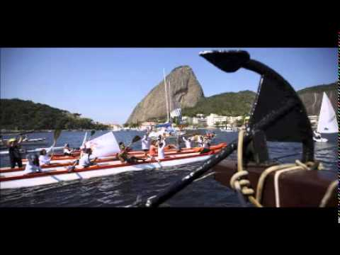 Protesters demand clean up of Rio's Olympic sailing venue