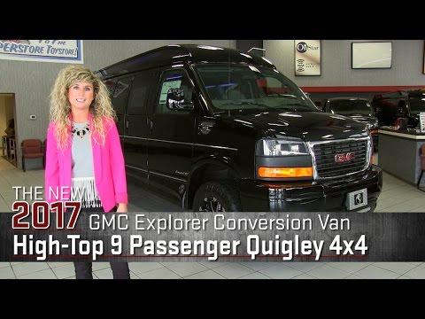 CUSTOM: New 2017 Lifted GMC Explorer Conversion Van Quigley 4x4 on Rims - White Bear Lake Superstore