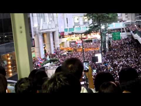 Bangkok protest – Nov 7 2013 – Chidlom anti-amnesty bill