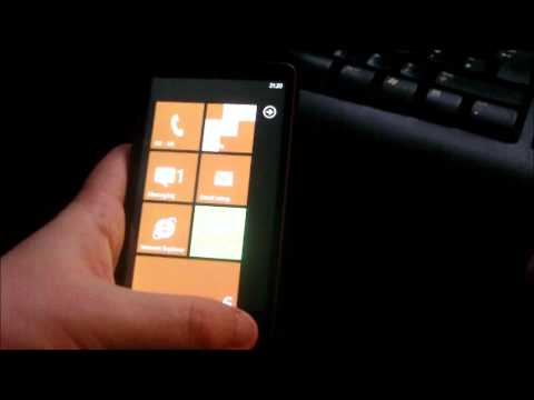 HTC HD2: How To Dual Boot Windows Phone 7 & Android - PART 2