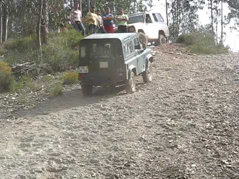 Land Rover Defender - неофициальный заезд TT 04